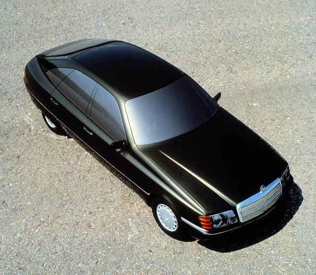 Mercedes-Benz W140 Prototypes