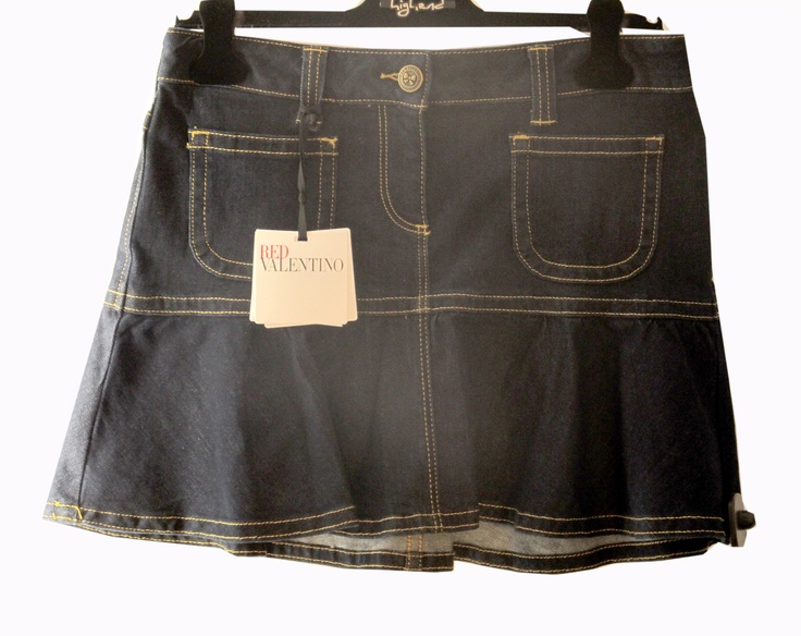 Jean skirt Red Valentino by Valentino Collection @Masara Boutique