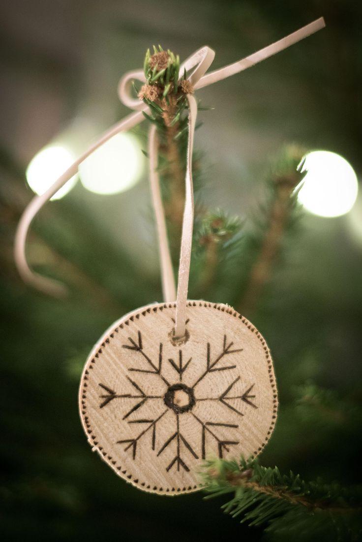 Wooden Etched Ornaments but muqotdesign