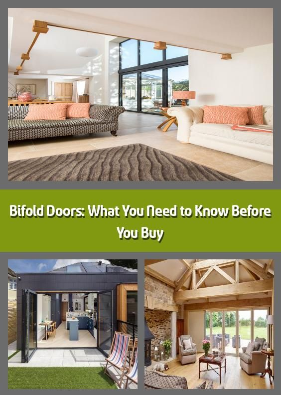 Bifold Doors: What You Need to Know Before You Buy - Bifold doors open up the home to the great outdoors and are ideal for filling interior areas with natural light; there's no question as to why they are the cherry on top of many self-build, extension and renovation projects.There are huge swathes of choices in materials, sizes and costs so it can be fairly daunting trying to find which system is right for your house. Retailers and manufacturers have embraced homeowners' desires ...