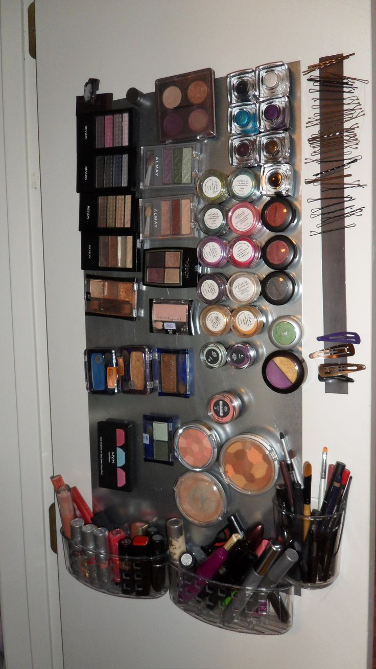 Makeup magnet board!