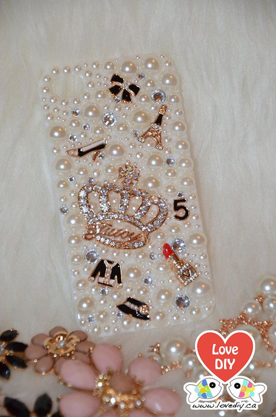 Bling Bling Phone Case by LoveDIY.ca (Available for iPhone 5/5s, iPhone 5c, iPhone 4/4s, Samsung Galaxy S4, Samsung Galaxy S3, Samsung Galaxy Note 3, Samsung Galaxy Note 2, Blackberry Q10), $17.99