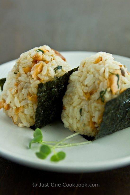 Broiled Salmon   Salmon Onigiri  Japanese Recipes at Just One Cookbook