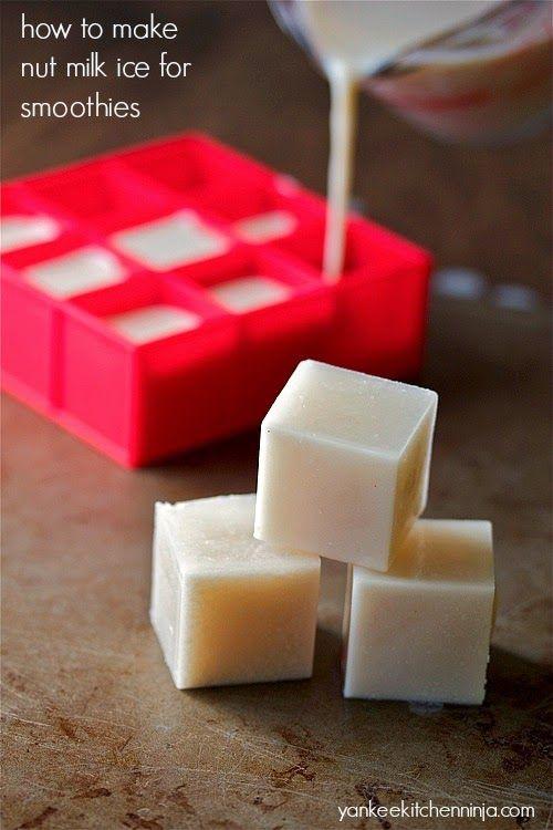 Nut milk ice (plus 5 more smoothie tips and tricks) | yankeekitchenninja.com