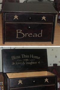 primitive breadbox on ebay