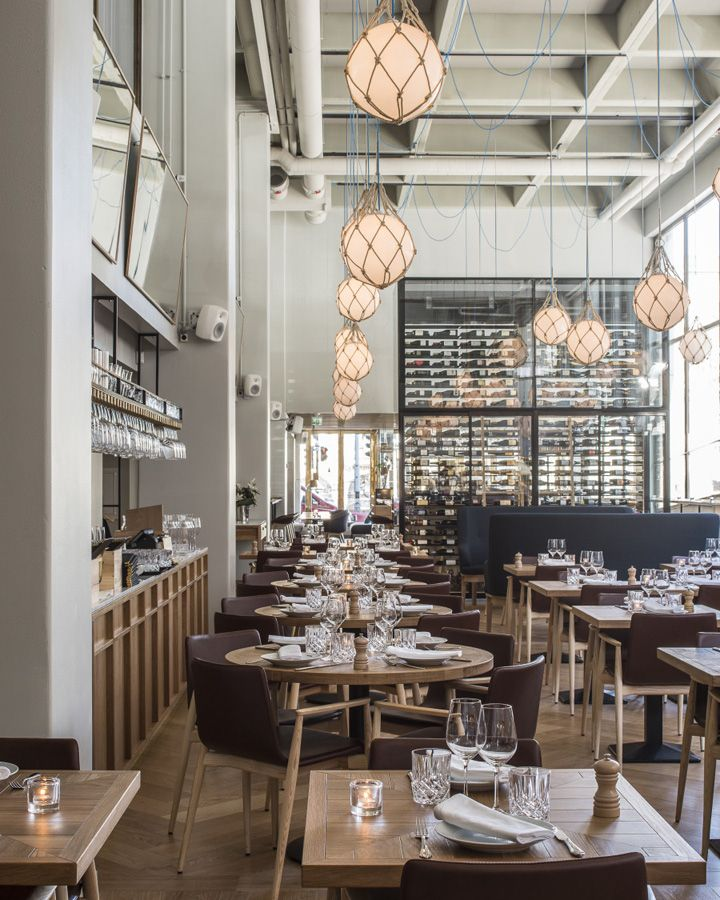 Bronda restaurant by Futudesign, Helsinki – Finland