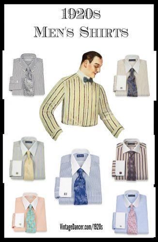 Trouver votre chemise tendance 1920