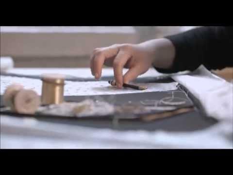 """Le Petit Théâtre Dior ~ Making of """"Mexique"""" miniature dress. Video by Dior, 2014"""