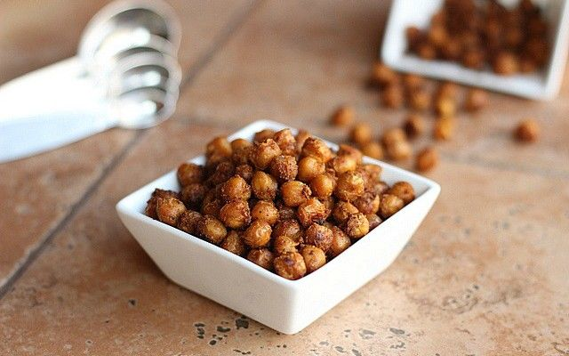BBQ Roasted Chick Peas