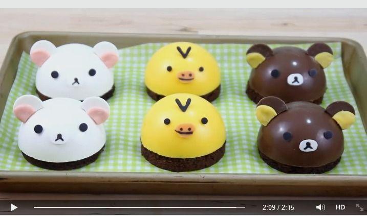 Tutorial: Rilakkuma cakes