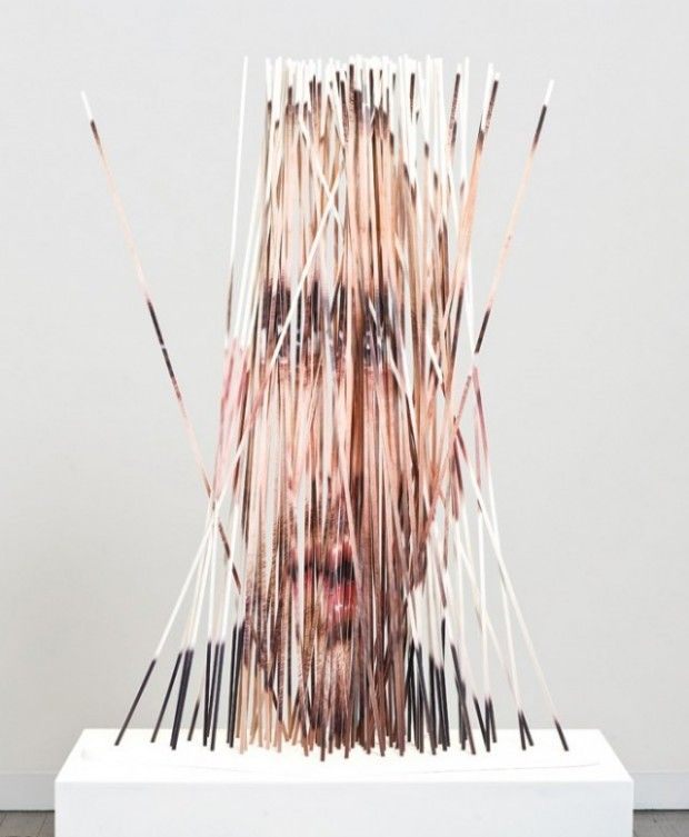 Portraits et sculptures par Justine Khamara - Journal du Design