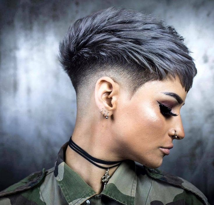 Image may contain: 2 people, closeup | Favorite Things in 2019 | Pinterest | Short hair styles, Hair styles and Hair