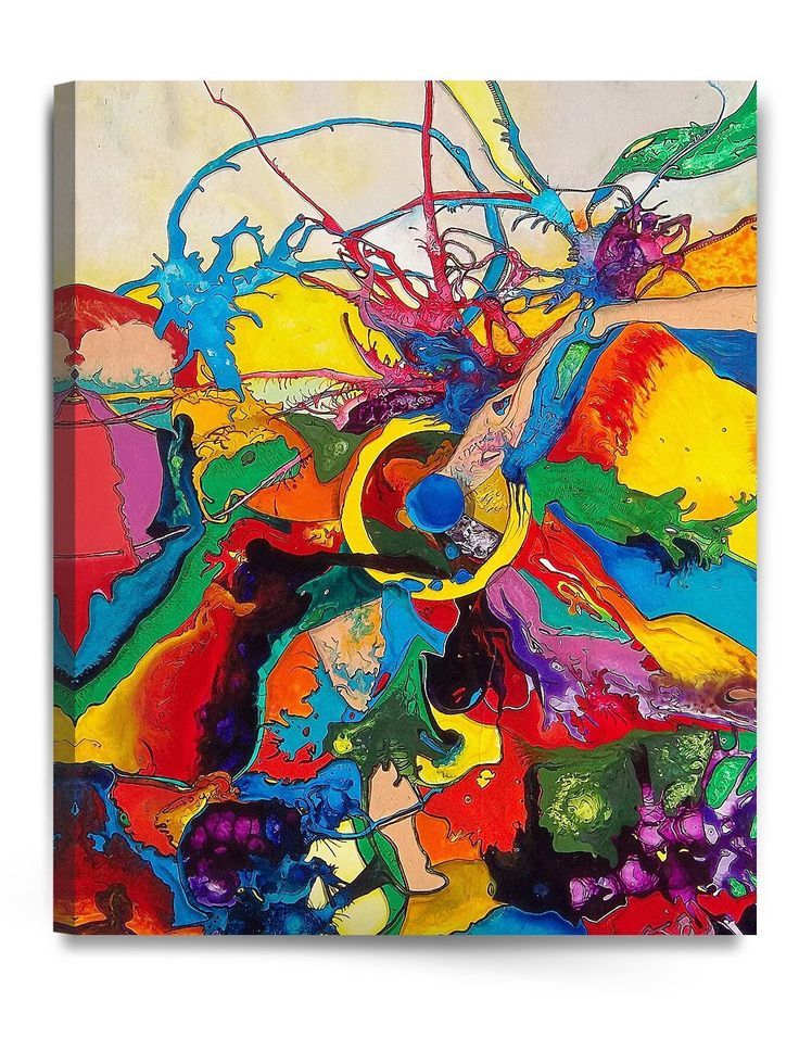 """DecorArts - Abstract Art( Inner Melody series), Giclee Prints Modern Artwork Printed on 100% cotton Canvas for Home Decor and Wall Decor. 30x24""""x1.5"""": Posters & Prints  'The links used are affiliate links. By buying through the links I may receive a commission for the sale. This has no effect on the price for you.'"""
