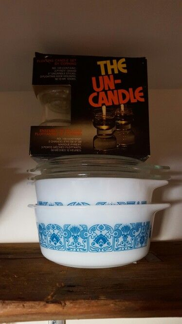 Blue horizon and un-candle