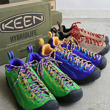 Fun approach-like outdoor shoe. Crazy colors available in Asia only, sadly -- Keen Jasper