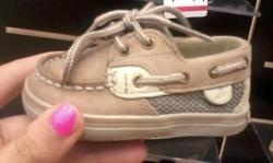 always looks cute in her sperrys ;)