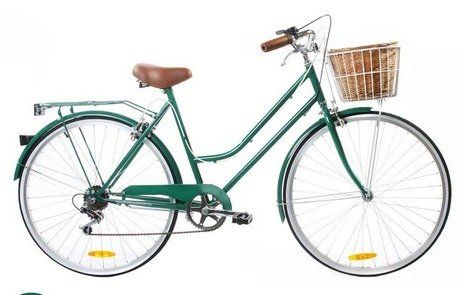 6 Speed Vintage Green Vintage Ladies Bike by Reid Cycles