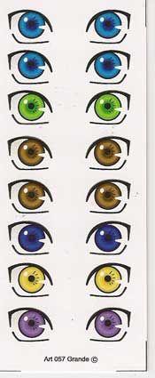 48 4 Ojos Autoadhesivos de Mariela Ló