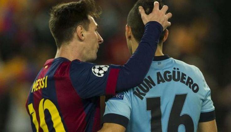 Lionel Messi - Kun Agüero
