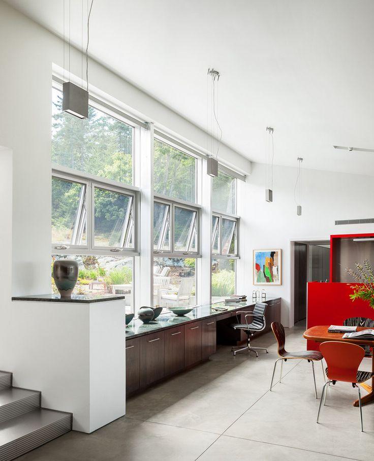 96 besten Wohnzimmerideen Bilder auf Pinterest Island, Bankett - einrichtungsdeen fur hausbibliothek bucherwand