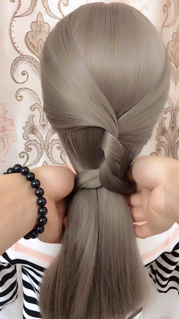 30 Easy Braids Hairstyles Videos Braids Easy Hairstyle Hairstyles Videos Hair Videos Hair Braid Videos Hair Styles