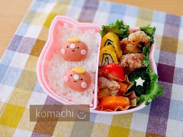 幼稚園 お弁当♡男の子の画像