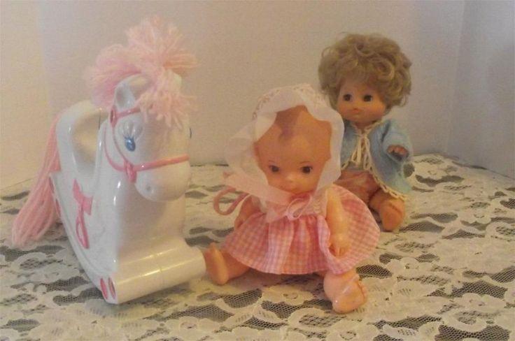 Vintage Playmates Pixie Doll & horse 9055     !