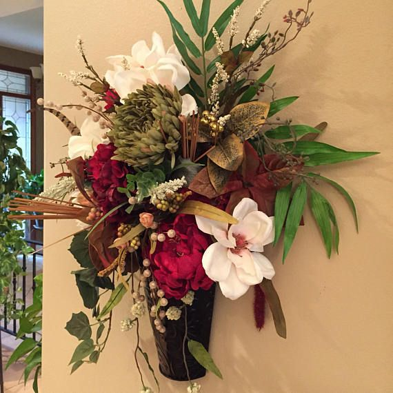 Kristen S Creations Flower Arrangements Center Pieces Dried Flower Wreaths Fall Hanging Baskets