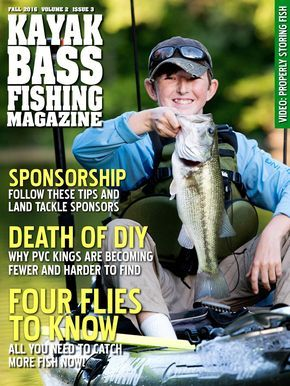 Kayak Bass Fishing Magazine Fall 2016 A free magazine for fishermen and specifically kayak anglers full of tips, techniques and cool gear.