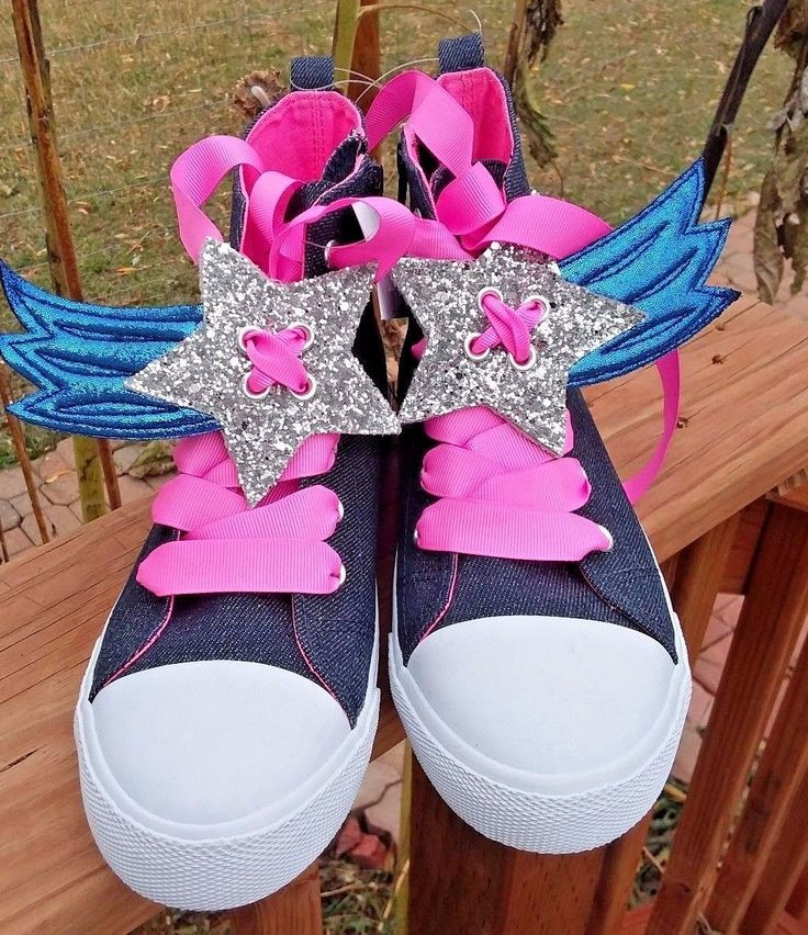 Cat & Jack High Top Sneakers Size 3 Girls' Navy Sparkle W/ Pink ties & Bling | Clothing, Shoes & Accessories, Kids' Clothing, Shoes & Accs, Girls' Shoes | eBay!