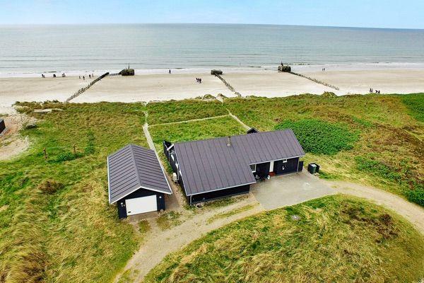 Ferienhaus: Blåvand, Südliche Nordseeküste, Dänemark, 6 personen, Whirlpool, Meerblick/Seeblick, Haus-Nr: 50237