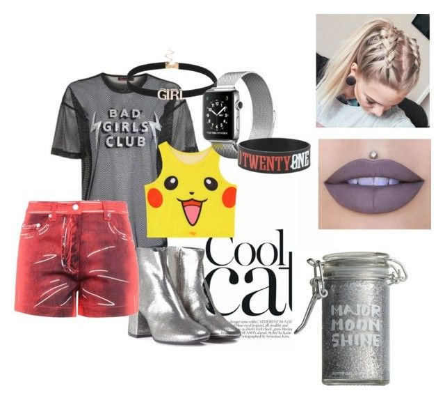 bht by ayozimhere on Polyvore featuring Topshop, Chicnova Fashion, Moschino, MM6 Maison Margiela, Jeffree Star and Major Moonshine