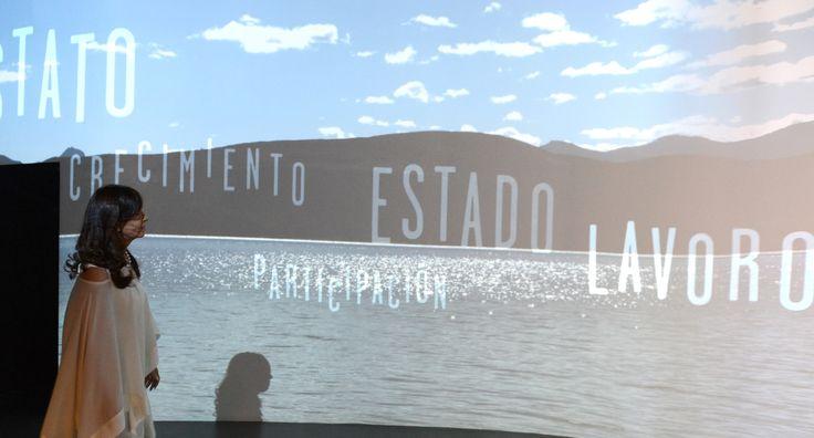 Visita de Cristina al Pabellón Argentino de la Expo de Milán -  http://www.cfkargentina.com/visita-de-cristina-al-pabellon-argentino-de-la-expo-de-milan/