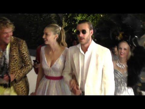 A Capri la festa notturna con Pierre Casiraghi e Bea Borromeo