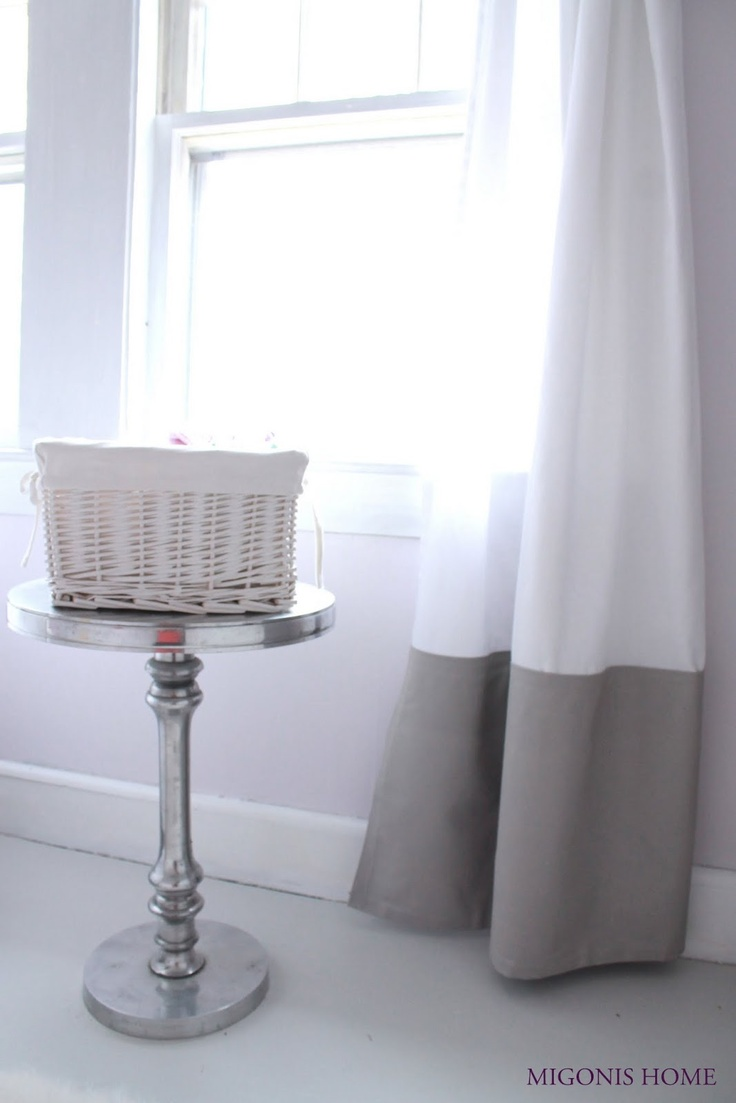 Migonis Home: Lengthening Curtains with No-Sew Hem Tape