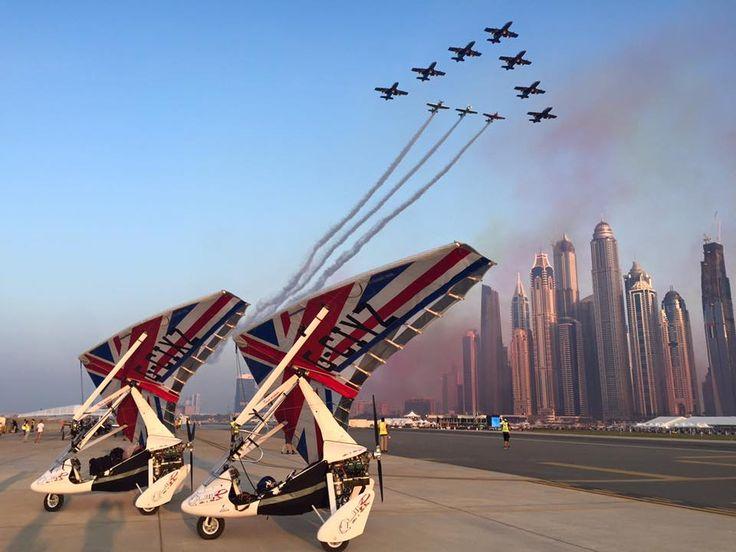 Just landed on SkyDive Dubai airstrip
