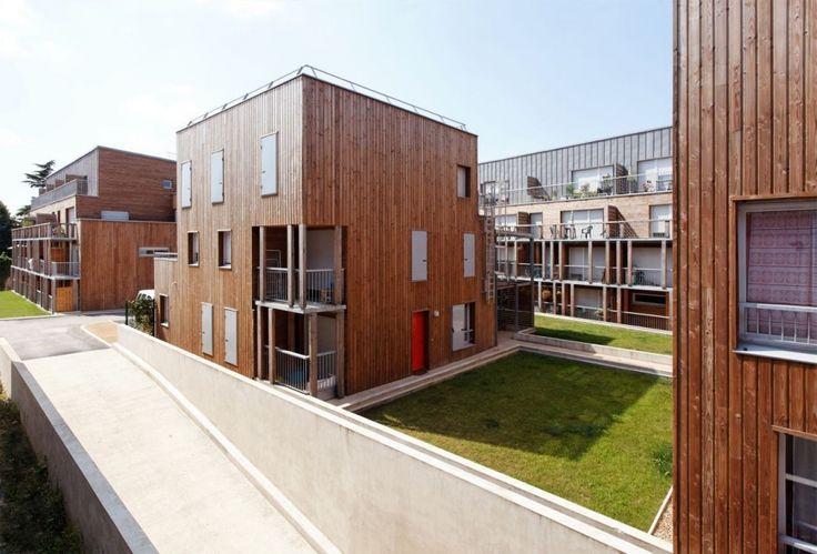 49 Social Housing Estates / BROISSAND arch - Location: Montlouis-sur-Loire, France