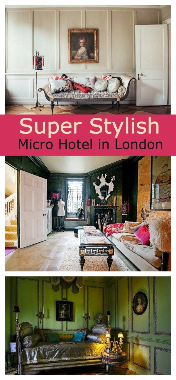 Tour this London Vacation Rental with a Theatrical Vibe