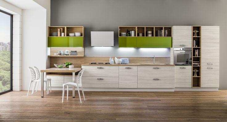 23 best Mille idee per la tua cucina lineare! images on Pinterest ...