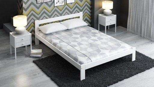 Prostota sprzyja przyjemniejszemu snu. Zgodnie z tą myślą zachęcamy do zapoznania się z naszym białym, prostym lecz eleganckim, lóżkiem sosnowym :) Wymiary to 140x200cm, w pełni ekologiczne, z brzozowym stelażem w zestawie. Gwarancja na 2 lata, i gwarancja na zdowy sen ;)         #łóżko #sypialnia #łóżkososnowe #łóżkodrewniane #łóżkobiałe #meble #mebledosypialni #dosypialni #łóżkoskandynawskie