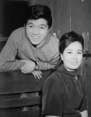 Kyu Sakamoto and Misora Hibari