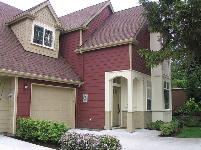 52 best red homes images on pinterest exterior colors on exterior house paint colors schemes id=95762