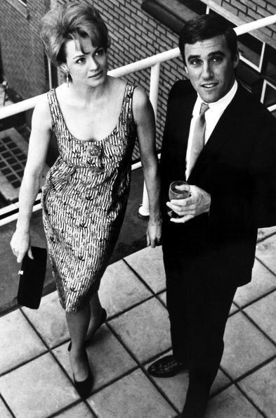 Angie Dickinson and Burt Bacharach, 1965