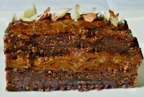 Bolo Cru de Chocolate com Avelãs ~ Veganana