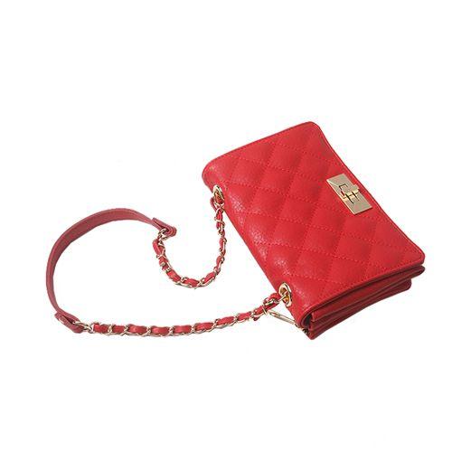 Quilting Bags Mini Zipper Crossbody Bag 5 Colors at doozybag.com
