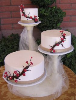 Tulle Wedding Cake | Single Tiers, Three Tier , Five Tier