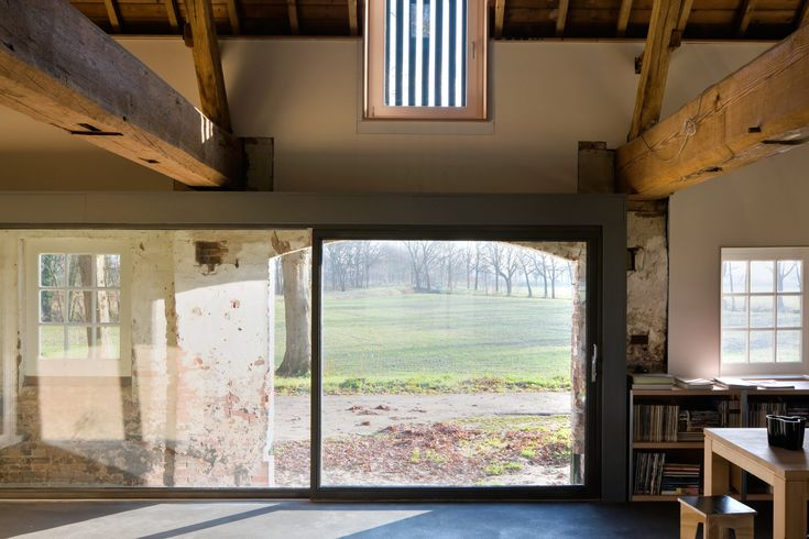 Hilberink Bosch Architecten , 100 Wamberg, verbouwing langgevelboerderij