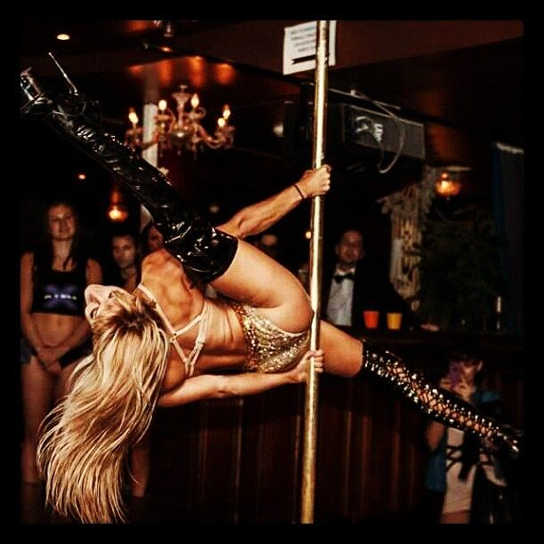 WOW! Pole Picture of the Day: Maddie Sparkle ( Pole Dance Academy)