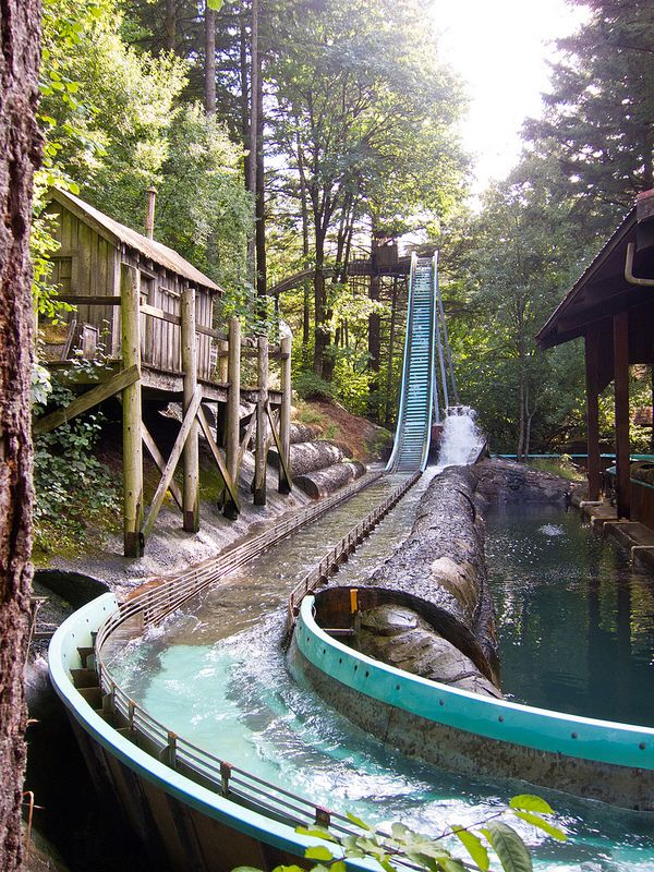 Enchanted Forest, Oregon's best and only theme park! Mike and Jody loved this, going with their cousins