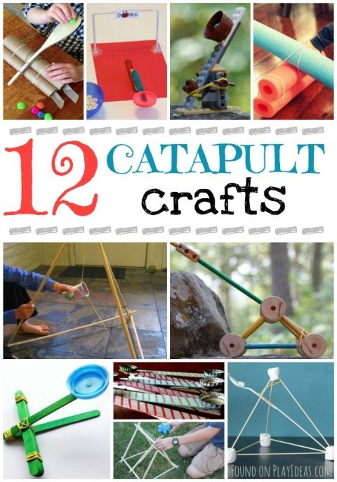 Catapult Craft For Kids: 10+ Ideas About Catapult Craft On Pinterest